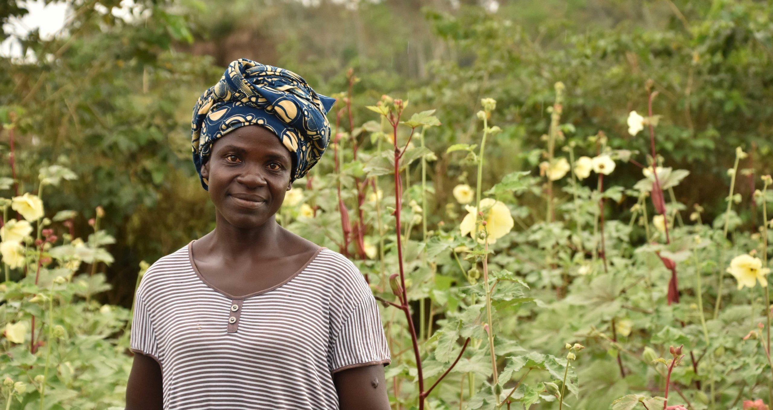 Farmer in Liberia