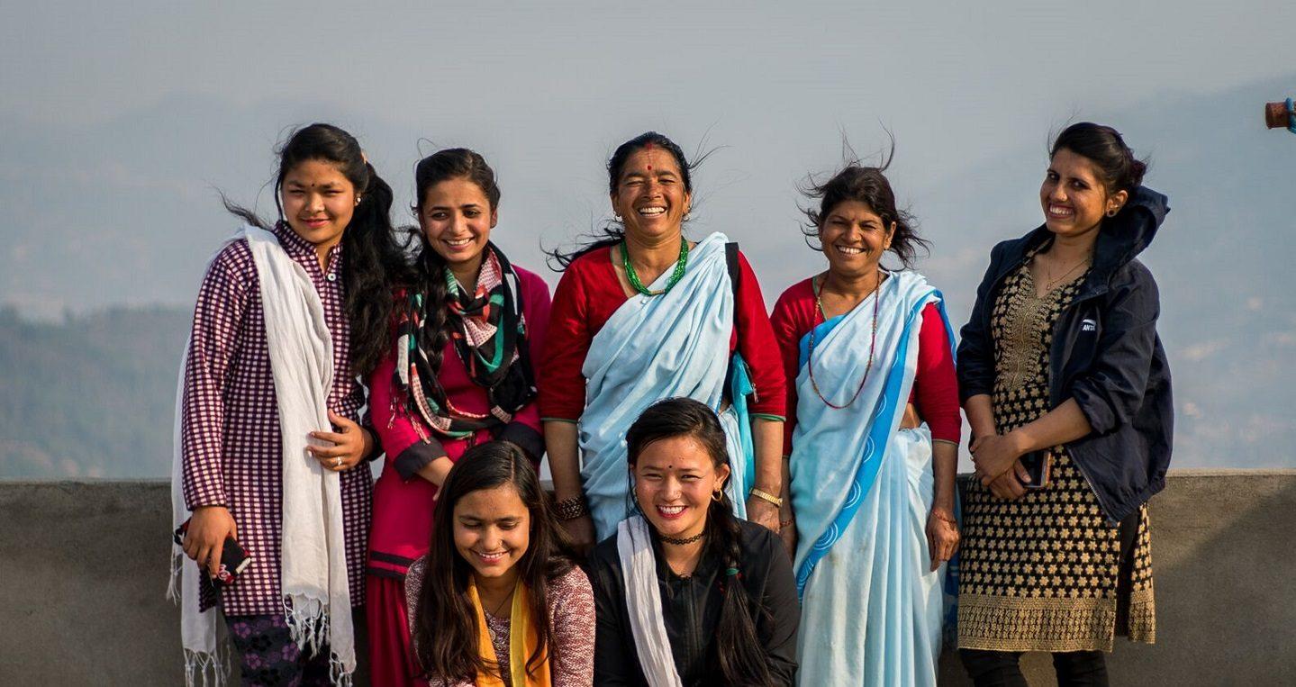 Girls club in Nepal