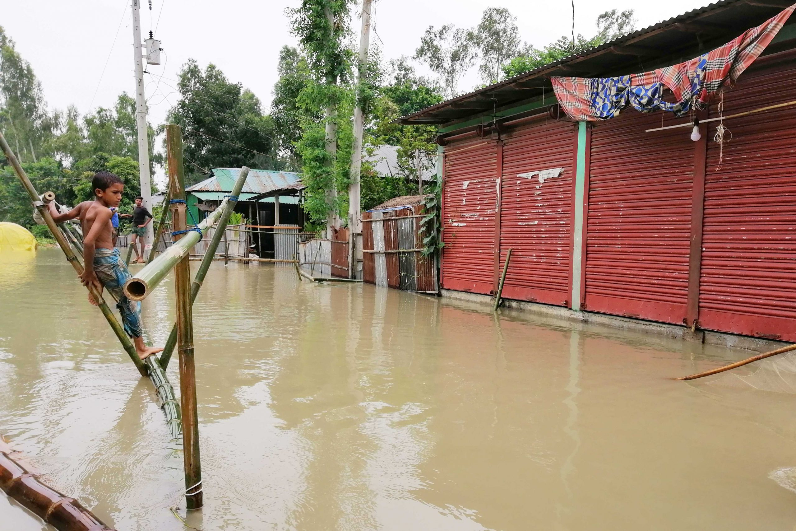 A quarter of Bangladesh is flooded. Millions have lost everything.
