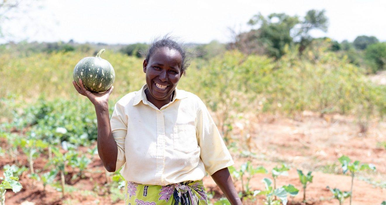 Loise a local farmer
