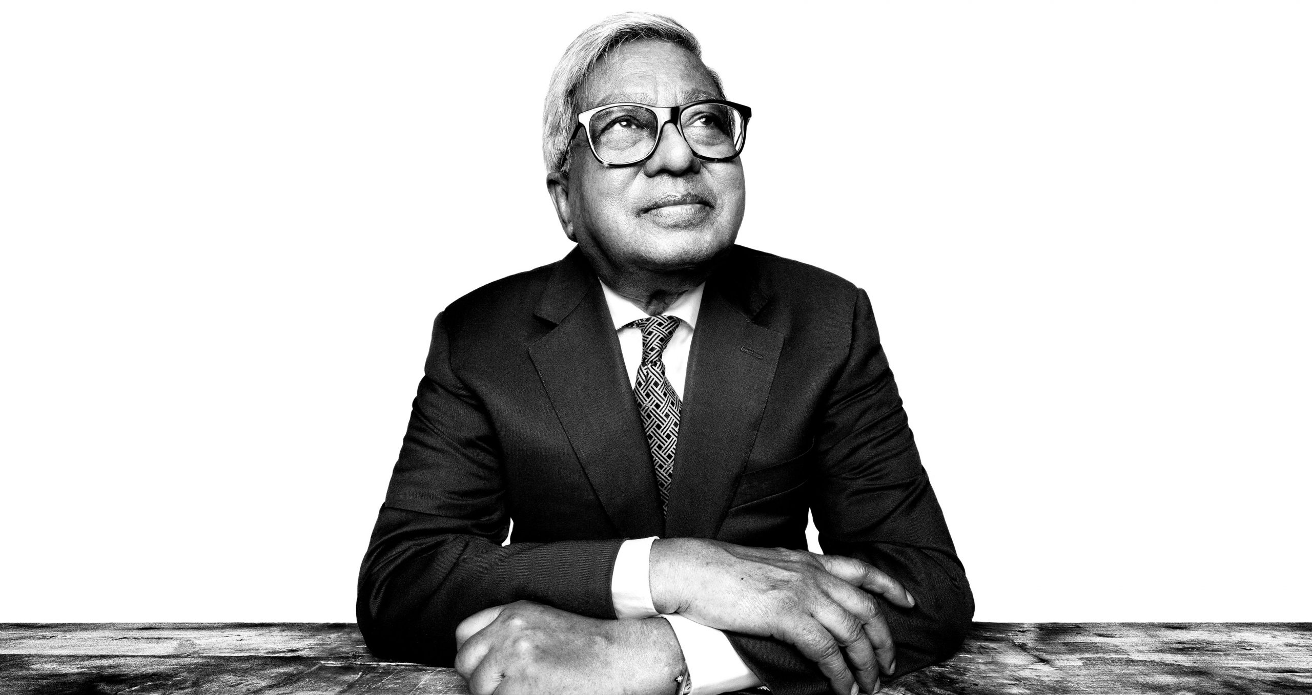 Sir Fazle Hasan Abed. Photo by Platon