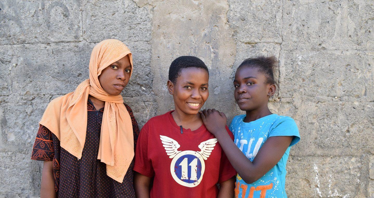 Girls club in Tanzania
