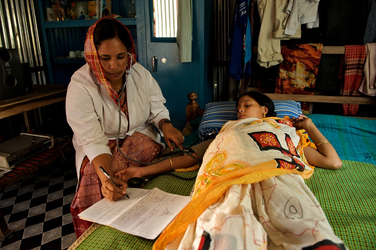 community health workers in bangladesh named a global examplar