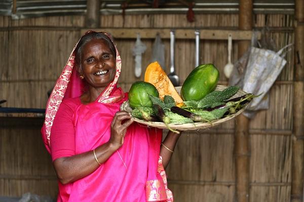 women farmer in Bangladesh