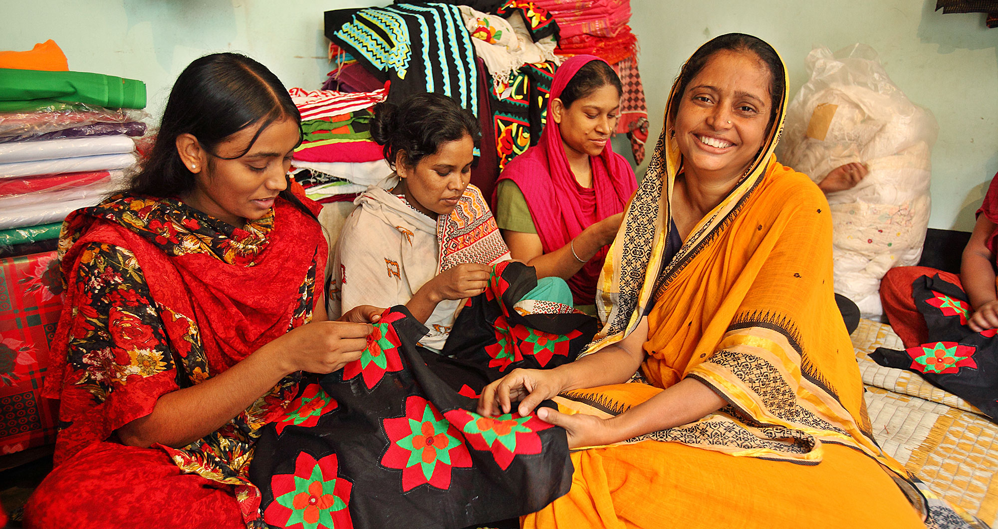 Women artisans in Bangladesh