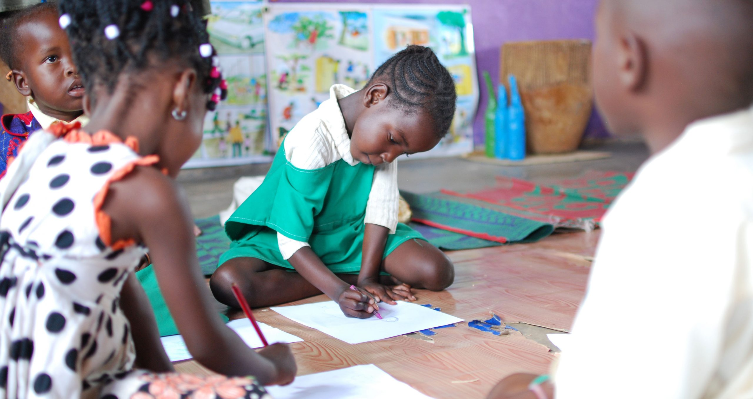 Children in a Play Lab in Uganda