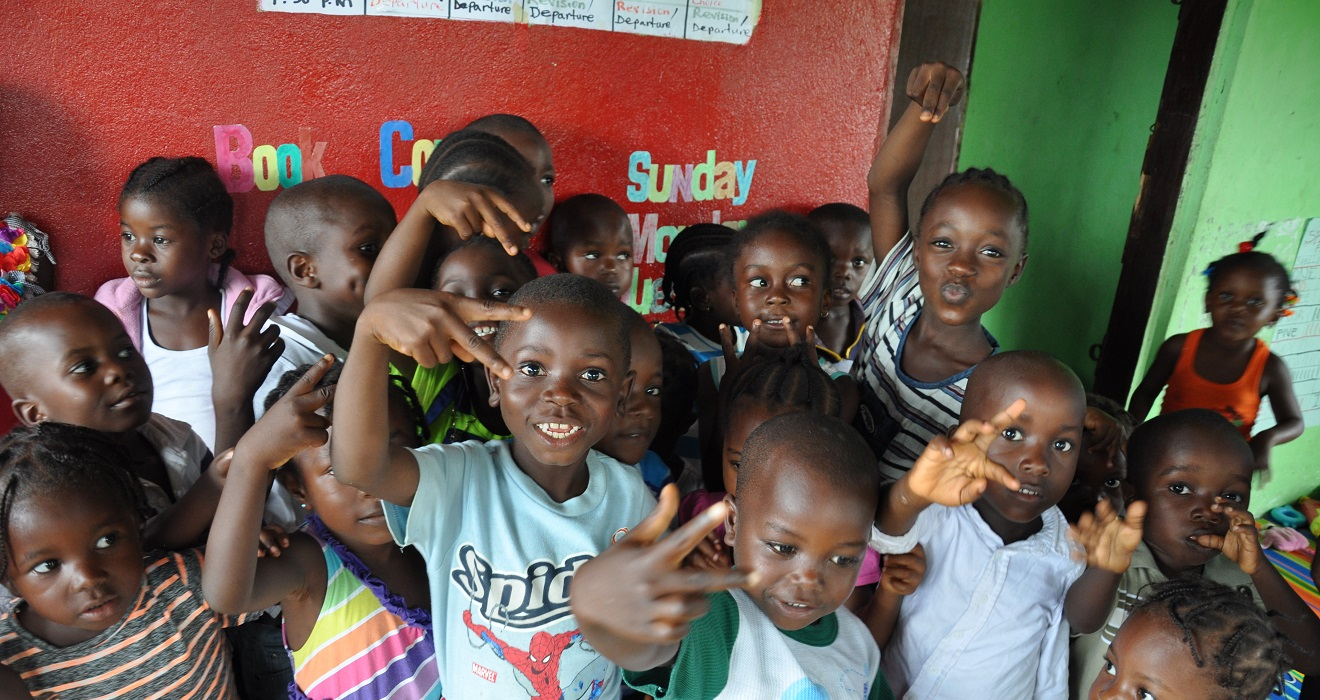 Play center in Liberia.