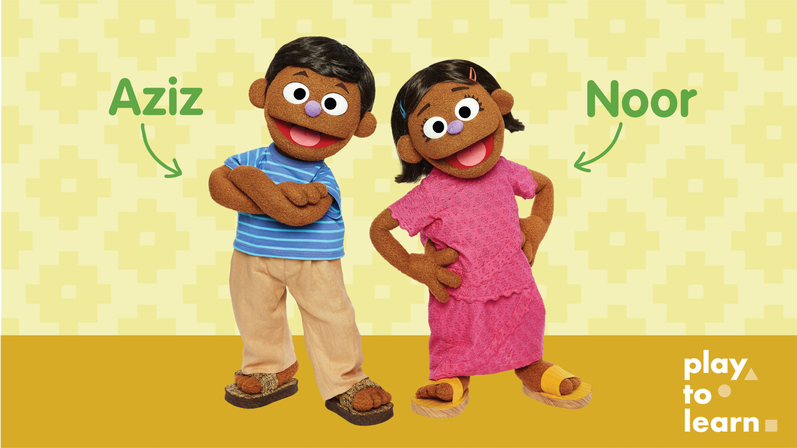 Rohingya Muppets Aziz and Noor