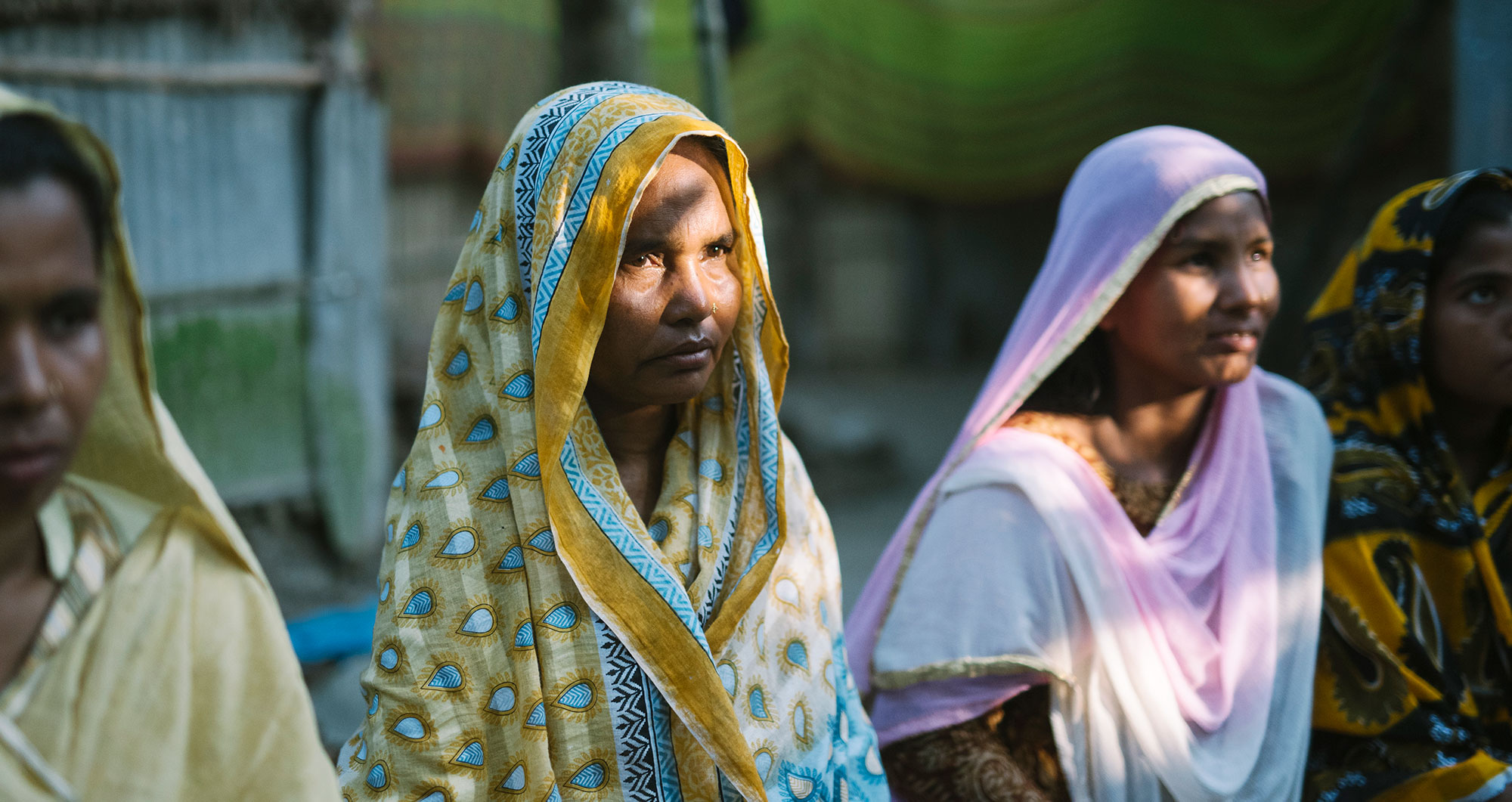 Women in Bangladesh meet as part of BRAC's Human Rights and Legal Services program