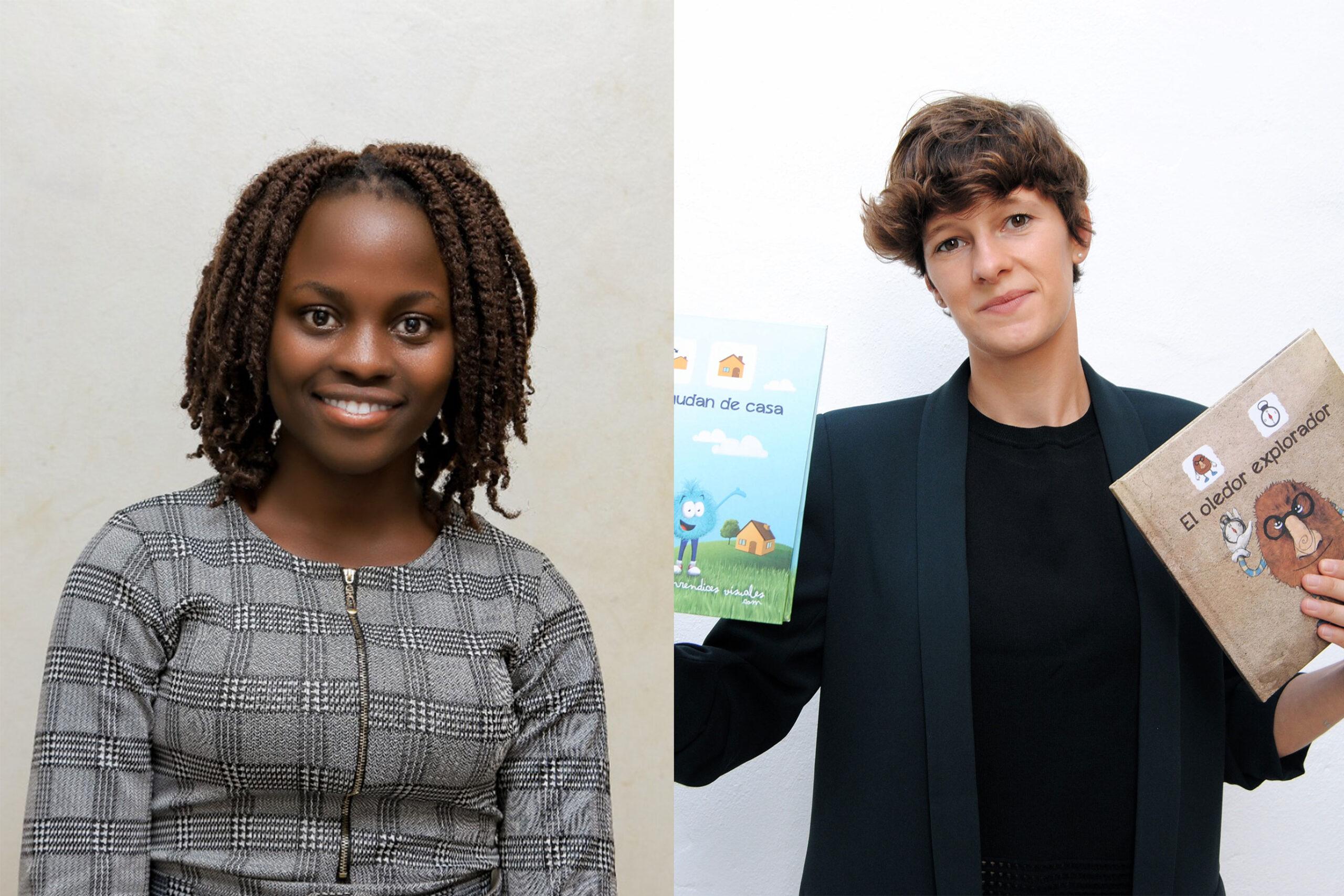 Cynthia and Amelie UN Fellows